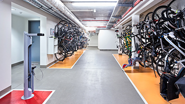 Providing bicycle storage facilities